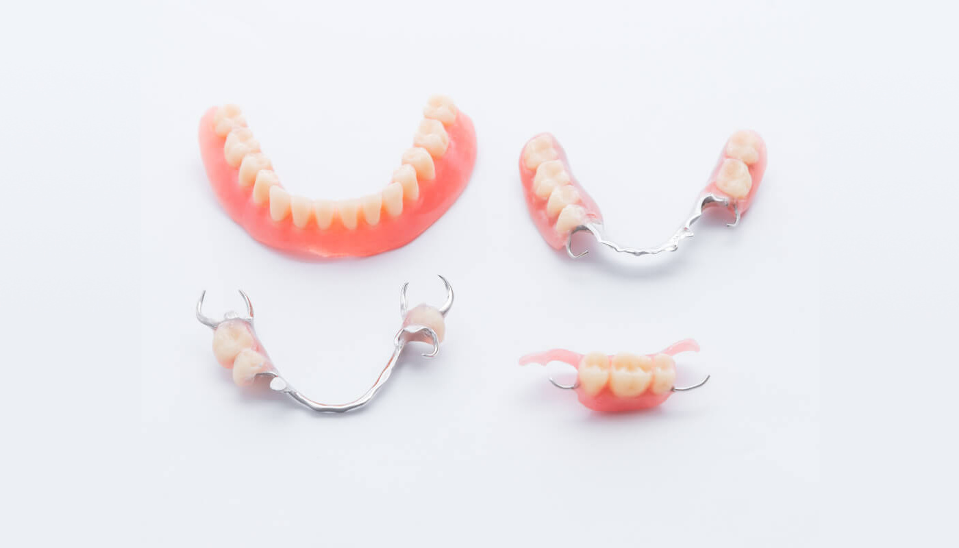 Removable partial denture and full denture